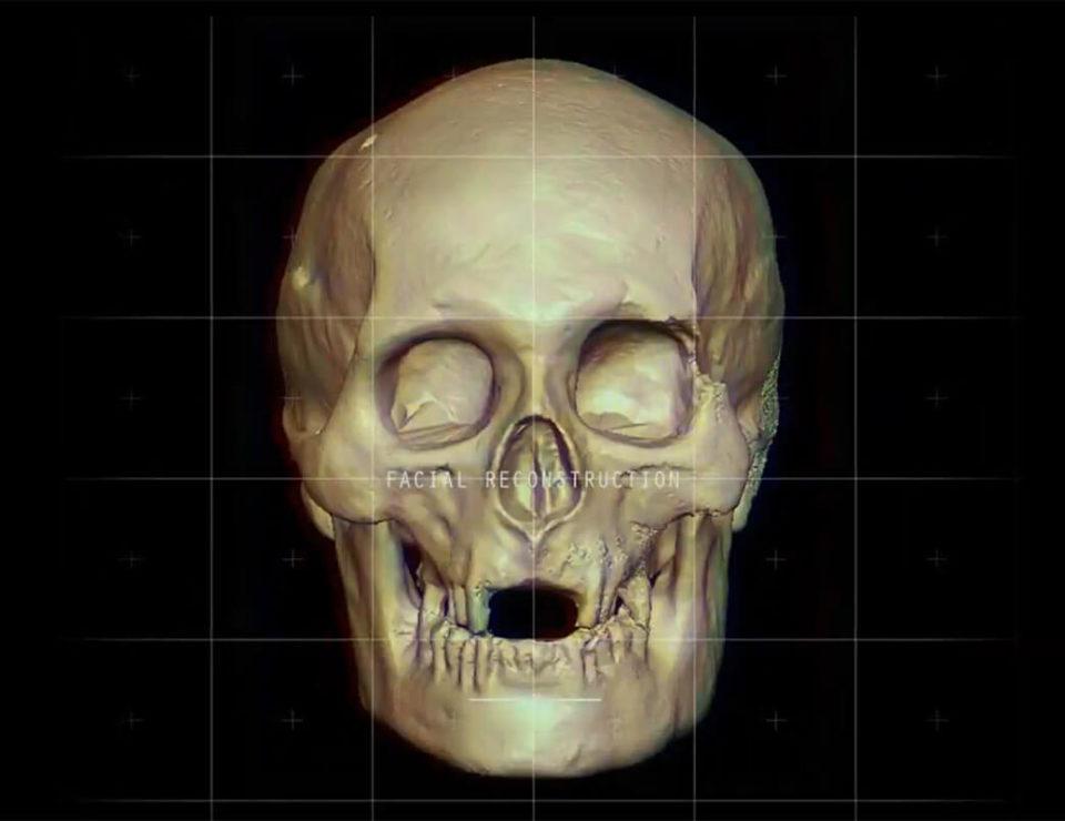 Нейросеть фото из черепа