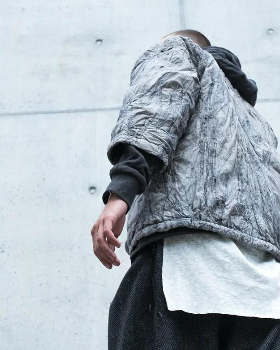 Куртка из тайвека от enfin leve