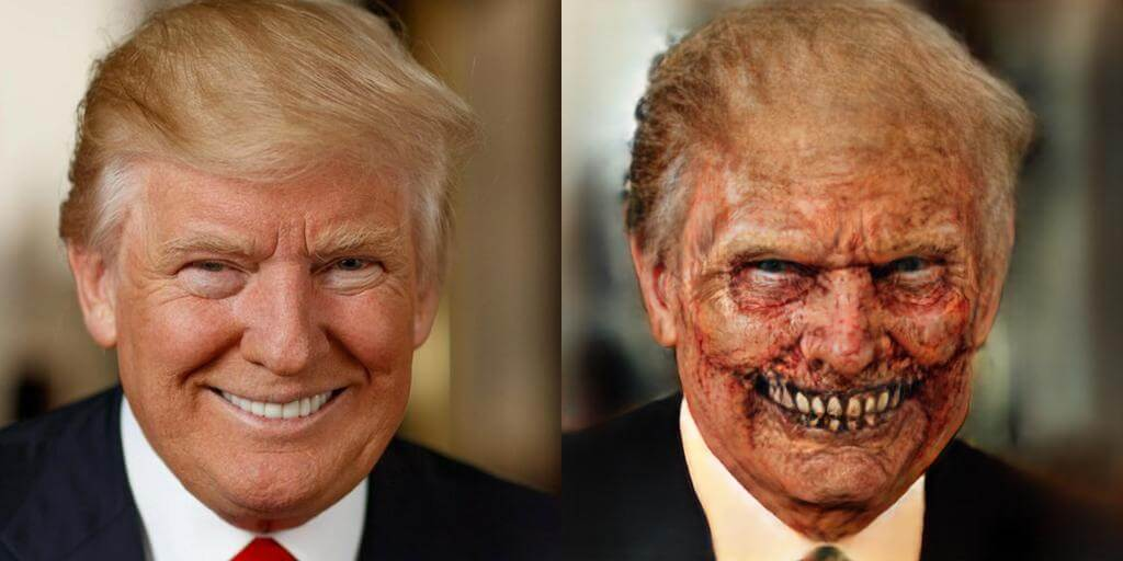 Дональд Трамп зомби