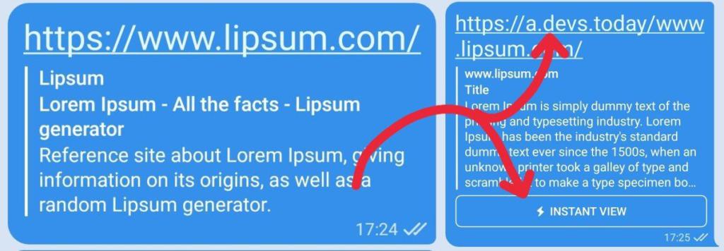 Как сделать Instant View в Telegram для любой ссылки?